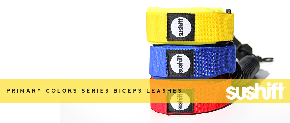 Sushift Primary Colors LTD Biceps Leashes